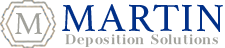 Martin Deposition Solutions Logo